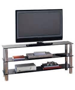 glass tv bench hygena matrix tv bench black glass