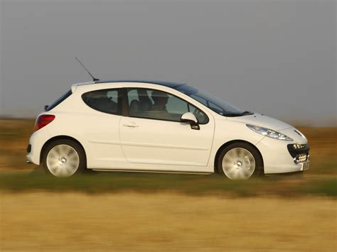 peugeot hatchback 207 hatchback 3 door 1st generation facelift 207