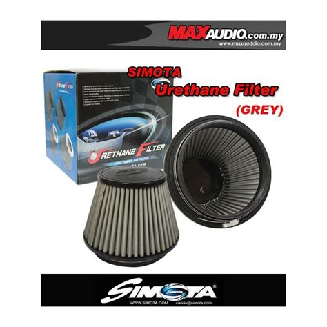 Open Filter Racing Simota buy simota 3 quot 4 quot 6 quot fully stainless steel urethane racing open port air filter silver