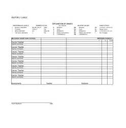 homeschool report card template 30 real report card templates homeschool high