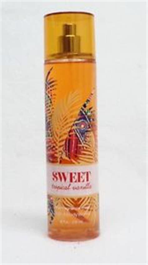 Mist Tropical Zoya Cosmetics 1 bath works sweet tropical vanilla fragrance mist spray ebay