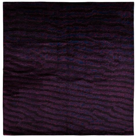fish area rugs purple area rug with fish skin print for sale at 1stdibs