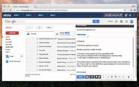 email templates free gmail integrate salesforce email templates with gmail
