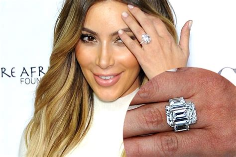 kim kardashian engagement ring cost kanye west most expensive celebrity engagement rings