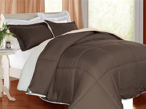 sherpa comforter set 3 piece kathy ireland sherpa comforter set