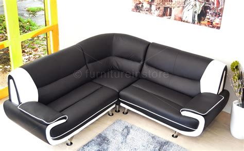 Corner Leather Sofas Uk 22 Choices Of Large Black Leather Corner Sofas Sofa Ideas