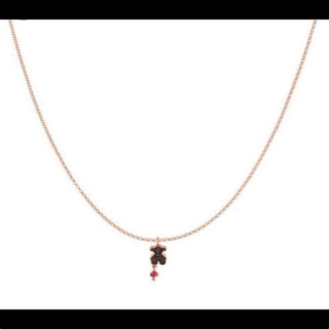 20 tous jewelry tous spinel and ruby necklace