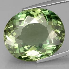 Green Apatite 1 47 Ct 24 5 carat oval 21 5x18 mm and untreated apatite
