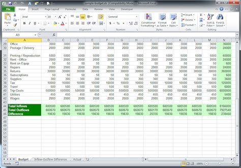 Exle Of A Budget Spreadsheet by Best Photos Of Exle Of A Budget Spreadsheet Budget