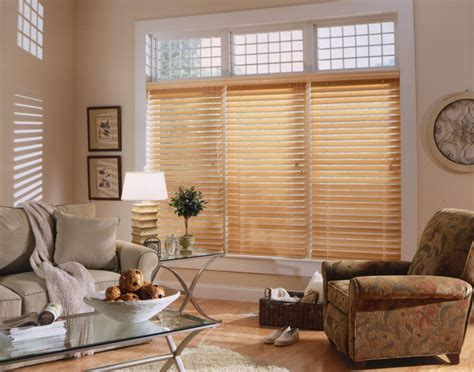 wood blinds with curtains wood blinds metro blinds window treatments
