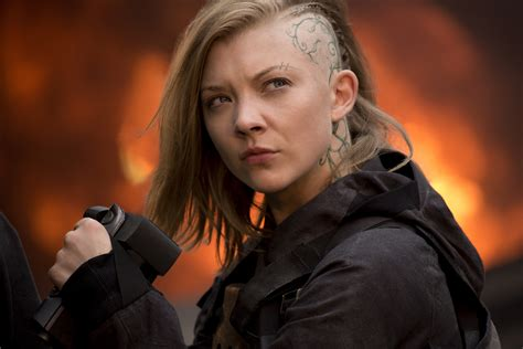 natalie dormer in hunger natalie dormer on hunger cressida
