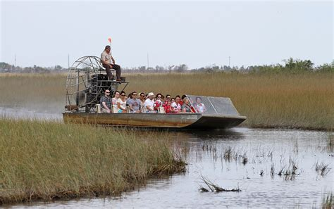 fan boat everglades national park airboat