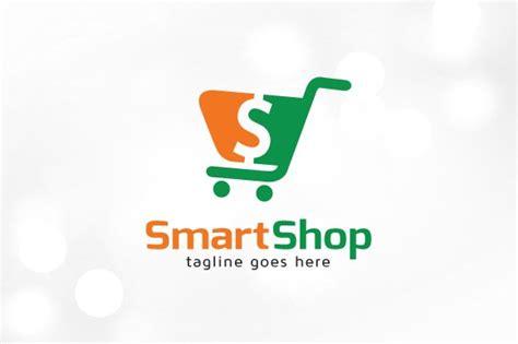 smart shop logo template logo templates creative market