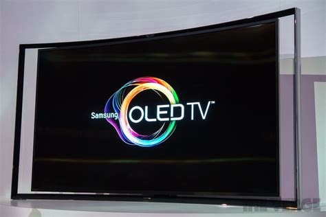 Tv Oled Samsung Samsung Curved Oled Tv On Sale For 8 999 Undercutting Rival Lg The Verge