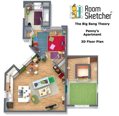 layout of big bang theory apartment 15 best the big bang theory images on pinterest big bang
