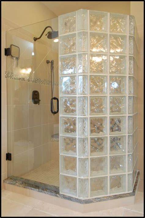 Glass Block Showers Small Bathrooms 17 Best Ideas About Glass Block Shower On Glass Blocks Wall Glass Block Windows And