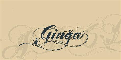 ginga gt font 183 1001 fonts
