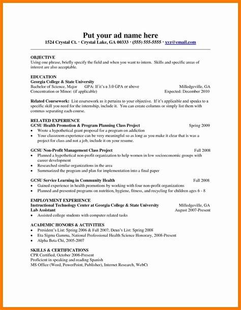 13 luxury free teacher resume templates resume sle