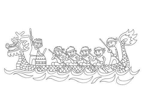 dragon family coloring page chinese dragon boat festival coloring pages family holiday