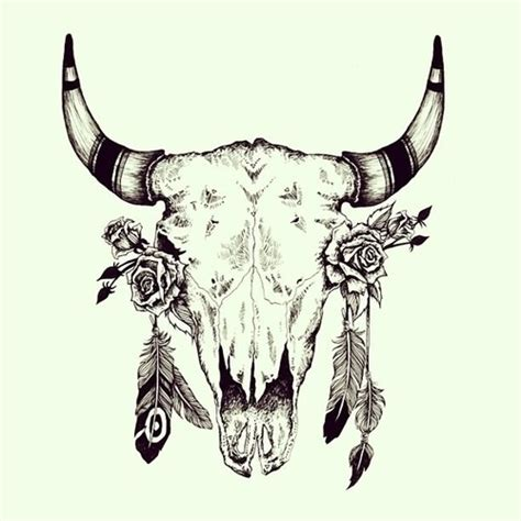 buffalo skull tattoo 25 best ideas about buffalo on bison
