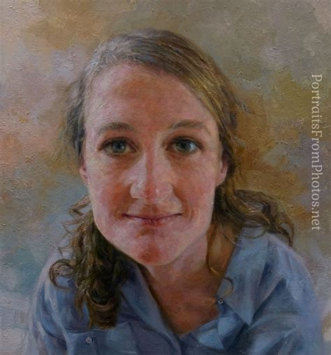 from photos paintings from photos ella portraits from photos