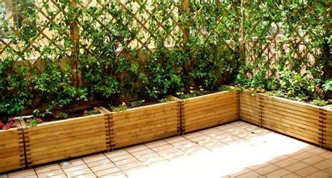 vasi in legno per esterno vasi da giardino componibili edendeifiori