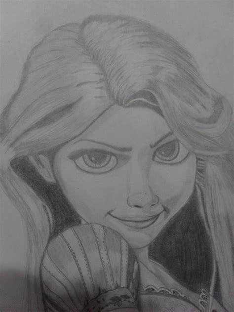 dibujos realistas y faciles dibujo realista rapunzel enredados taringa