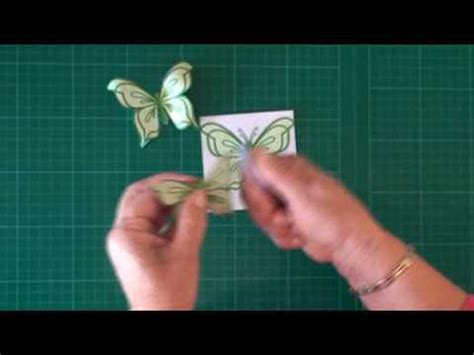 How To Make Decoupage Cards - decoupage butterfly card magic