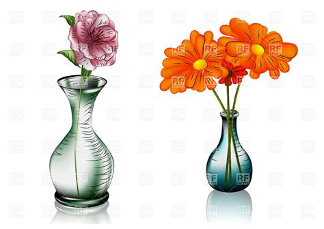 vase flowers clipart two glass vases dma homes 18588