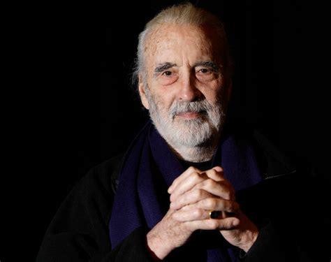 british stars who died in 2015 christopher lee evil count of cinema dies at 93 sbs news