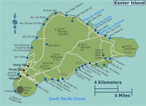 easter island map quot el gigante quot and the moai of easter island easter