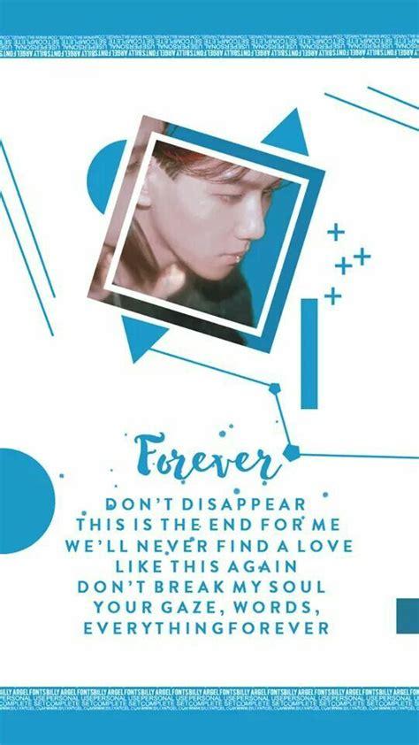 exo forever lyrics 206 best exo wallpaper images on pinterest wallpapers