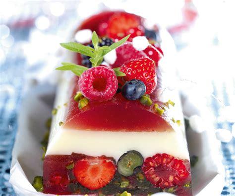 light dessert recipe fruit terrine