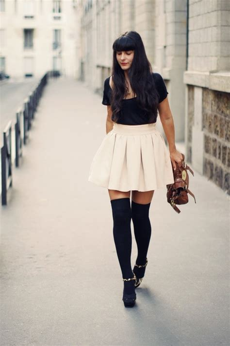 outfits with knee high socks skirt 45 best images about peep toe with tights on pinterest