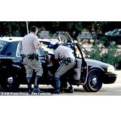 Moment Heather Locklear Has To Be Helped From Police Car