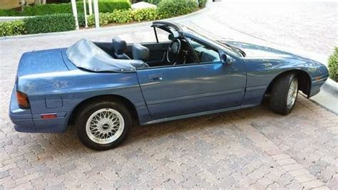 mazda convertible 90s 1990 mazda rx 7 convertible for sale 15 771 original