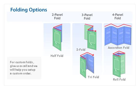 How To Fold Paper Into Brochure - brochure kiosk pics brochure folding options