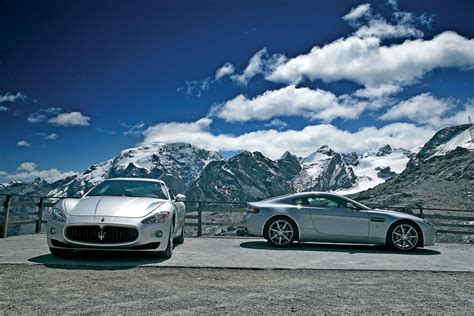 Aston Martin Vs Maserati by Maserati Gt V Aston Martin V8 Vantage Maserati Gt V Aston