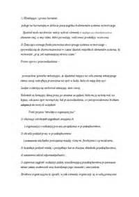 Presidential Speech Outline by Quot Karol Adamiecki Quot Wyszukiwarka Notatek Pl