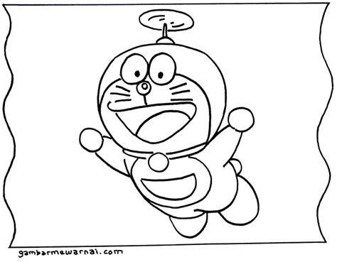 Buku Gambar Doraemon Gambar Mewarnai Doraemon Gambar Mewarnai