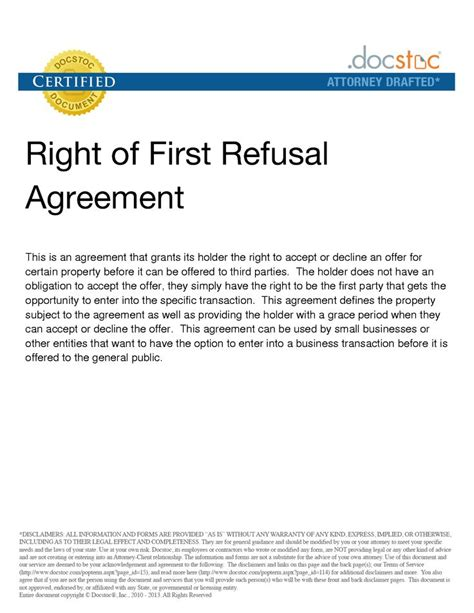 25 Best Ideas About Right Of First Refusal On Pinterest Real Estate Tips Home Buying Process Right Of Refusal Template Real Estate