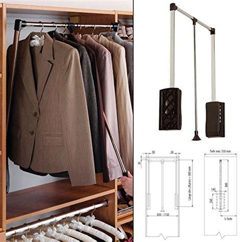 kleiderstange hängend kleiderstange z b ausziehbar zur wandmontage