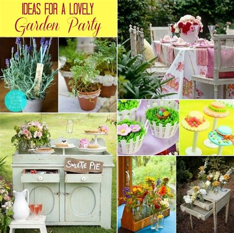 party themes garden ideas for hosting a garden party celebrations at home