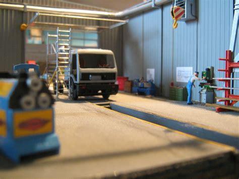 werkstatt lkw lkw werkstatt diorama modellbau community dioramen bauen