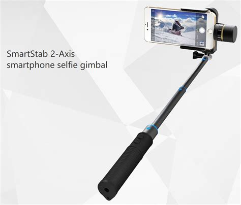 feiyu tech tongsis smartstab 2 axis selfie gimbal for smartphone black jakartanotebook