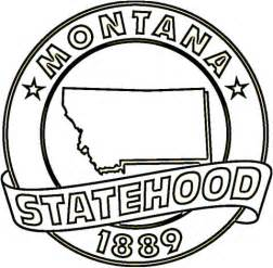 Montana State Coloring Page Supercoloring Com Montana Coloring Page