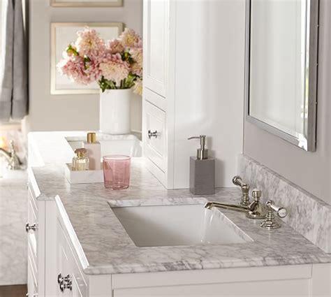 reyes lever handle widespread bathroom faucet pottery barn