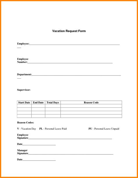 ideas collection 5 holiday request form template with