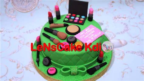gemes membuat kue ulang tahun how to make birthday cake makeup cara membuat kue ulang