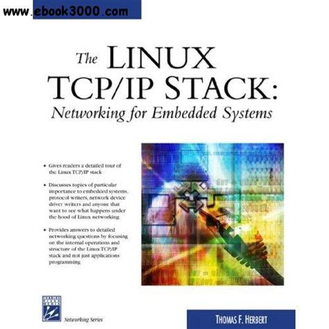 ip software for linux the linux tcp ip stack networking for embedded systems